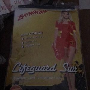 Bay watch Lifeguard costume